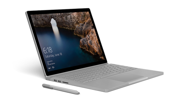 Surface Book 2 Lado