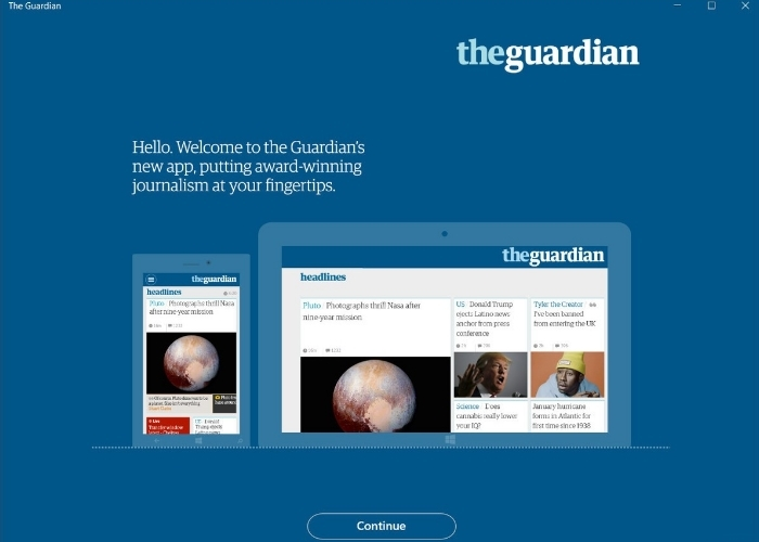 The Guardian Windows App