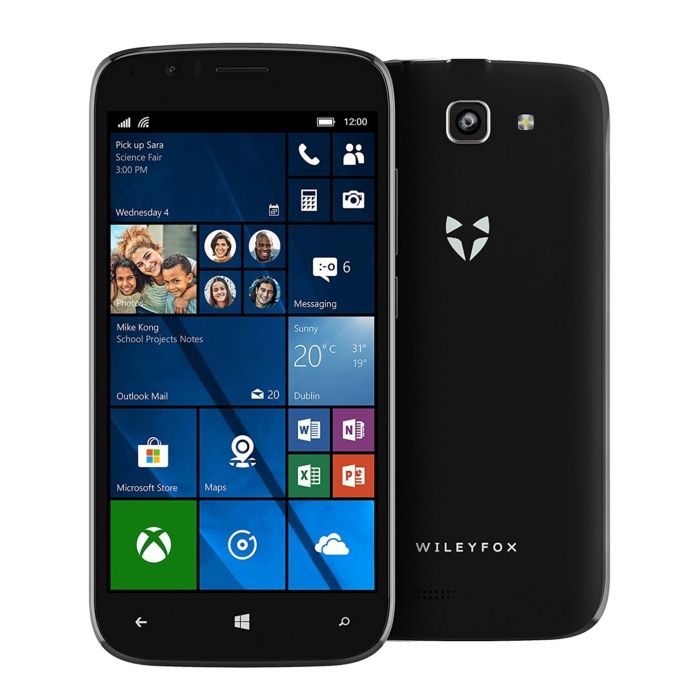 Wileyfox Windows Frente