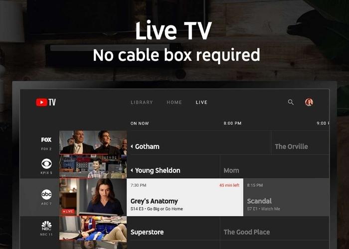 YouTube TV Xbox