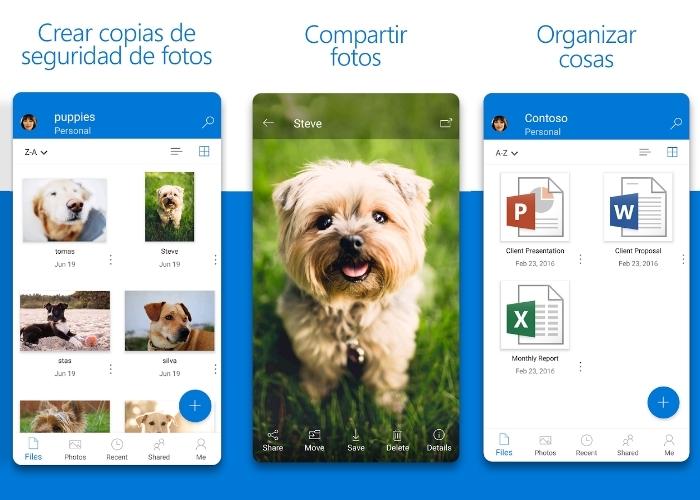 Actualizacion OneDrivre Android