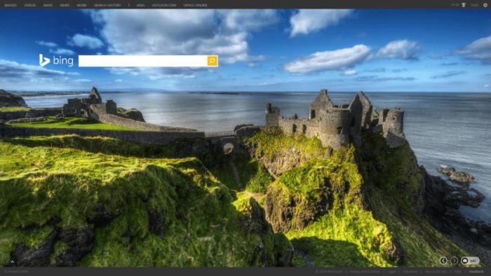 Bing Captura