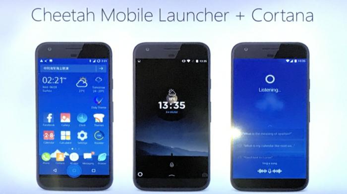 Cheetah Launcher Cortana