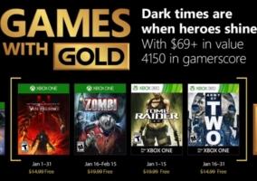 Games Gold Enero 2018