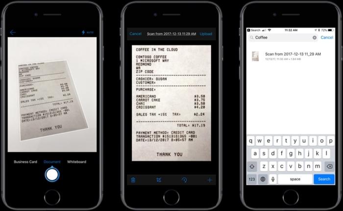 OneDrive Detecta Texto