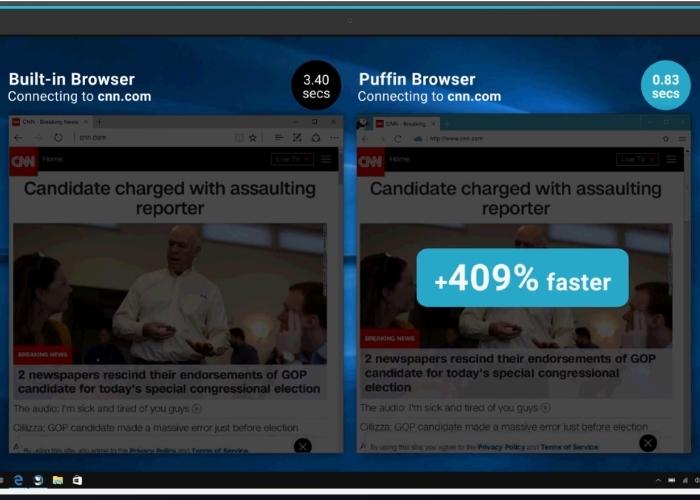 Puffin Browser Windows 10