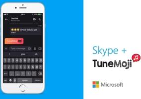 Skype Tunemoji