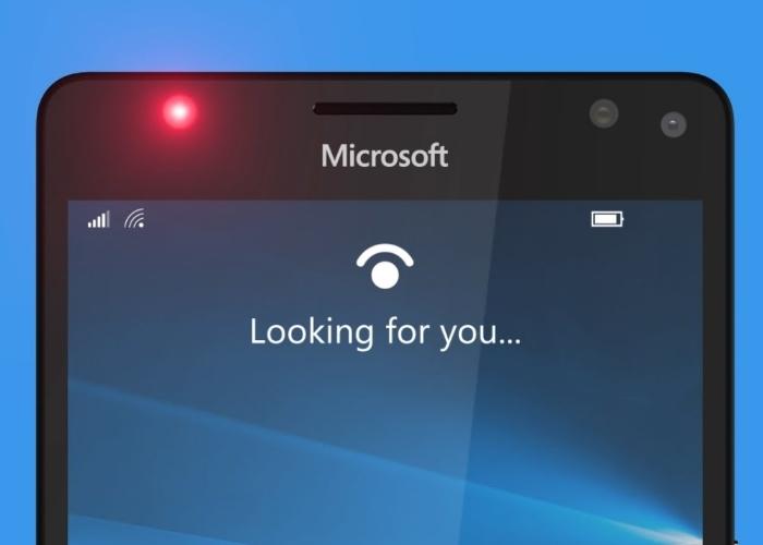 Windows Hello Lumia