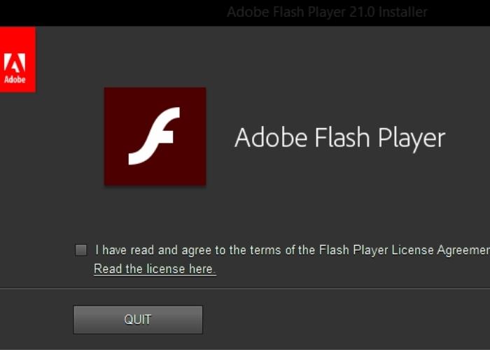 Adobe Flas Instalacion