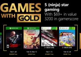 Games Gold Febrero 2018