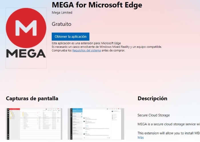 Mega Extension Pagina