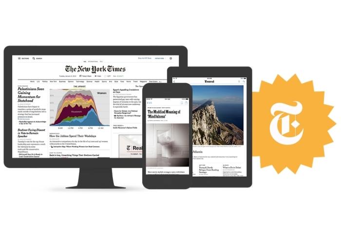 NY Times Plataformas