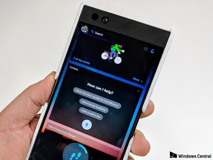 Microsoft Launcher Cortana