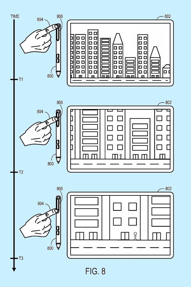 Patente Surface Pen Zoom
