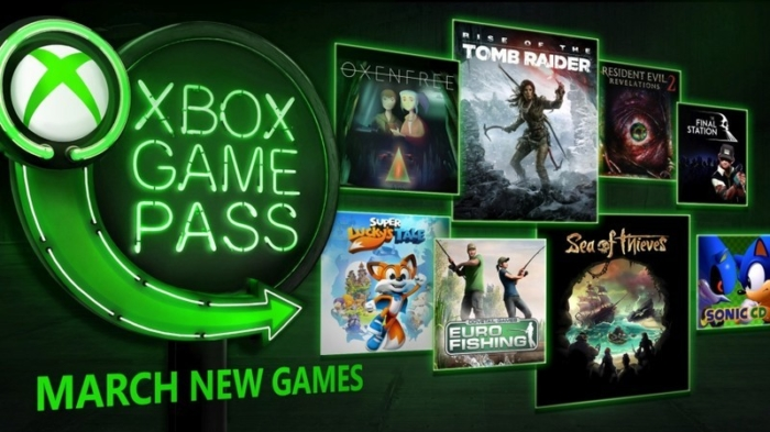 Xbox Game Pass Marzo 2018