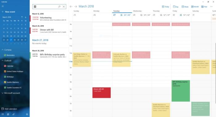 Busqueda Calendario