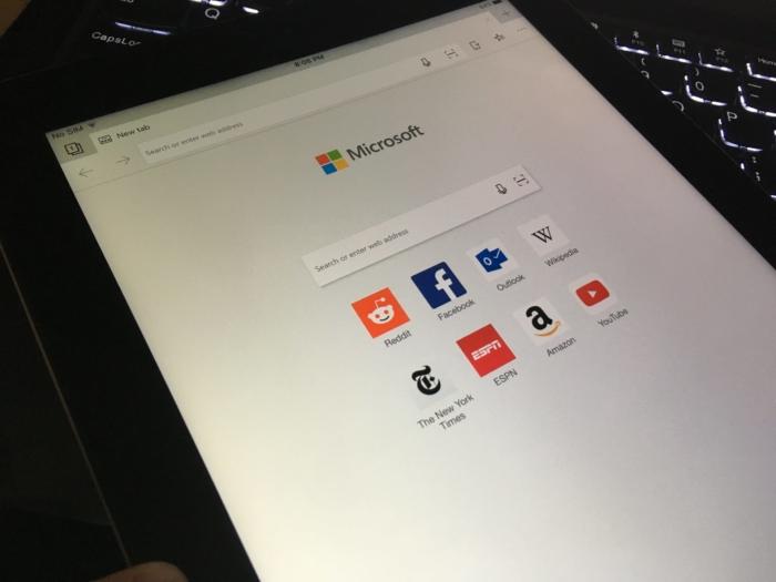 Edge En iPad