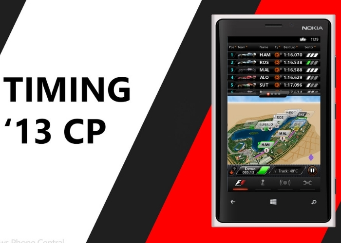 F1 App Windows 10