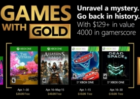 Games Gold Abril 2018