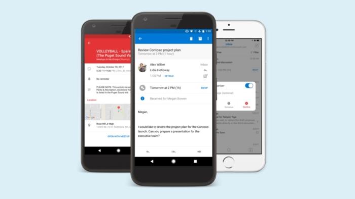 Outlook En Moviles