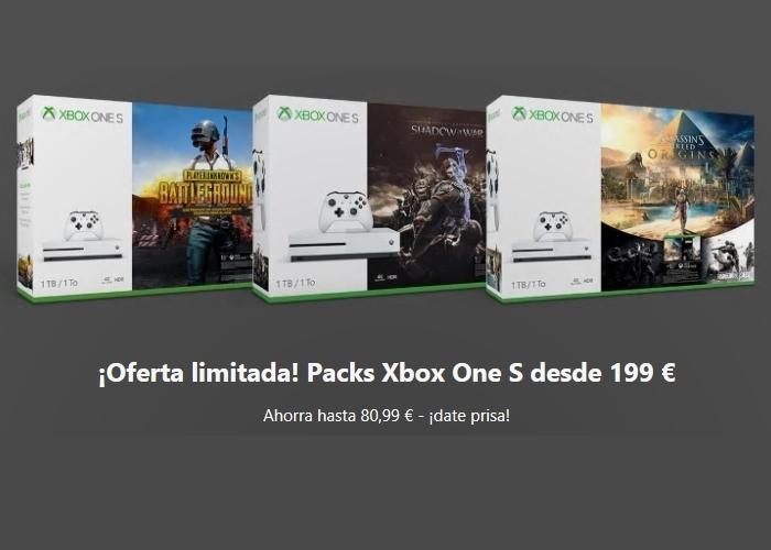 Packs Xbox One 199Euros