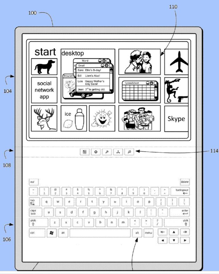 Patente Tablet Plegabel