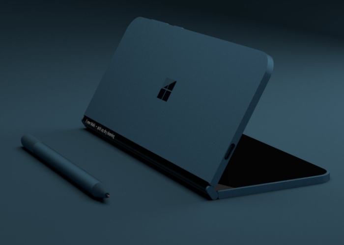 Surface Phone Render Azul