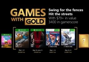 Games Gold Mayo 2018
