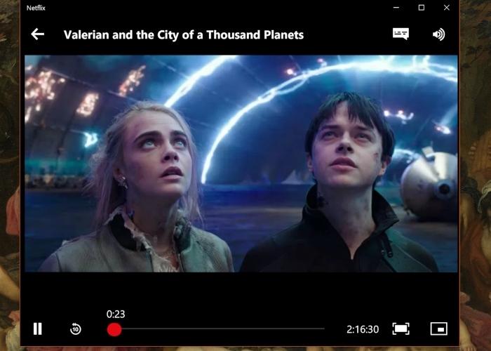 Netflix Flotante