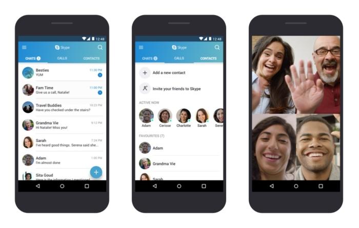Skype para Android ahora se integra con las opciones de llamada ...