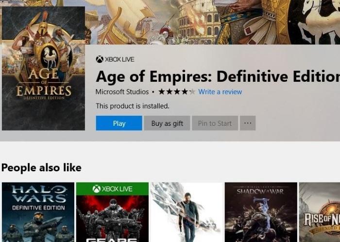 Age Empires Regalo Tienda