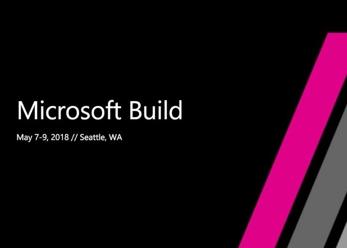 Build 2018 Presentacion