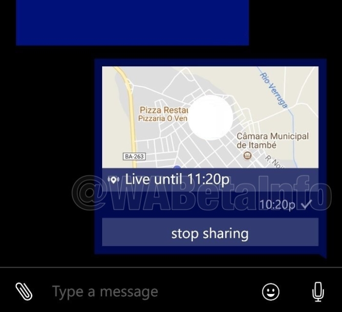 WhatsApp Beta para Windows Phone ya te deja compartir tu ubicación en vivo