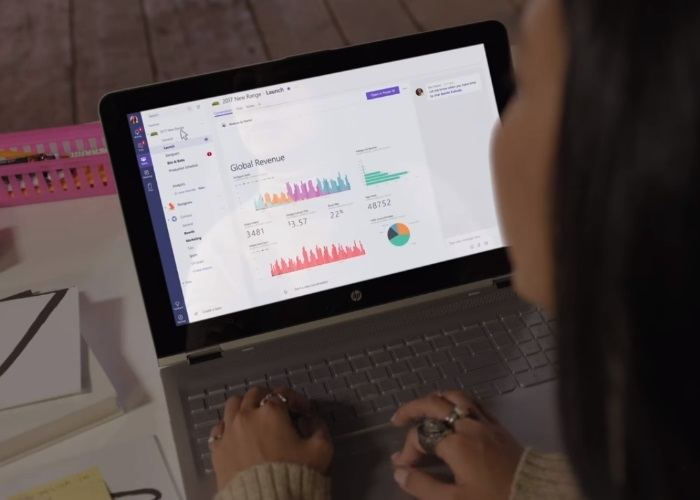 Usando Microsoft Teams