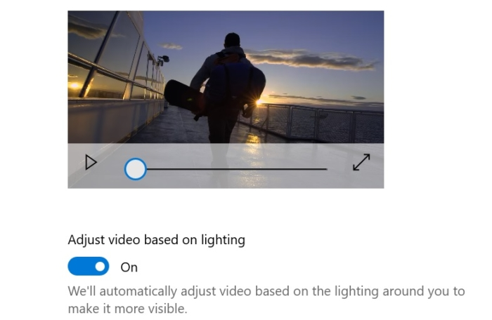Redstone 5 permitirá ajustar automáticamente el brillo de tus vídeos al aire libre
