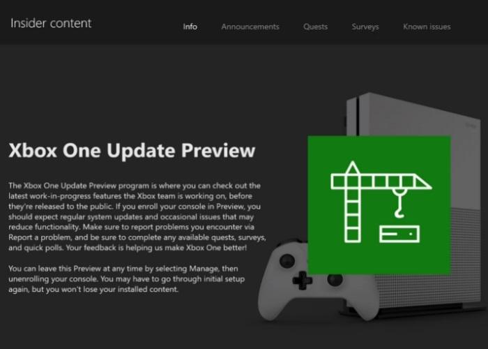 El Anillo Skip Ahead llega al programa Xbox Insider