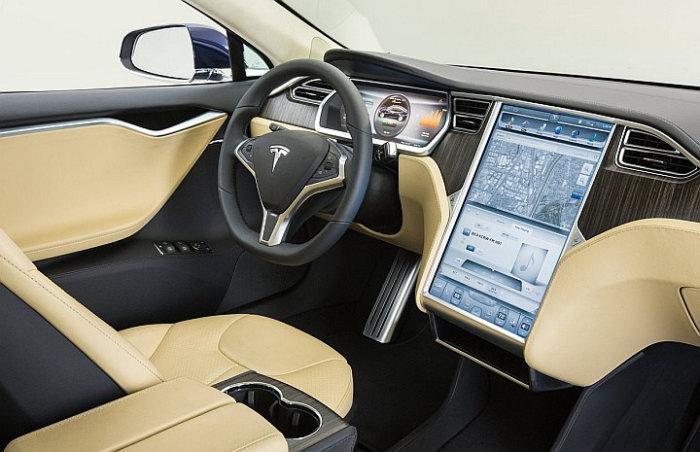 Pantalla Tesla Model S