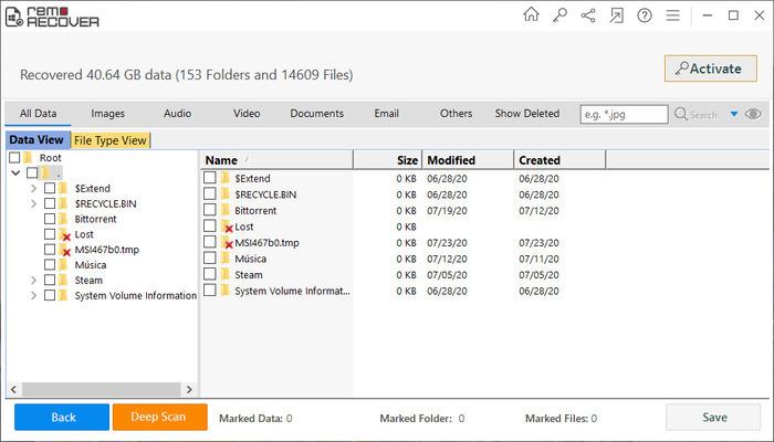 Remo Data Recovery Software recupera archivos fácilmente