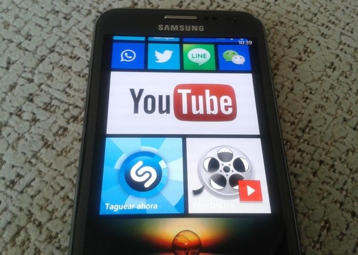 Aplicación YouTube