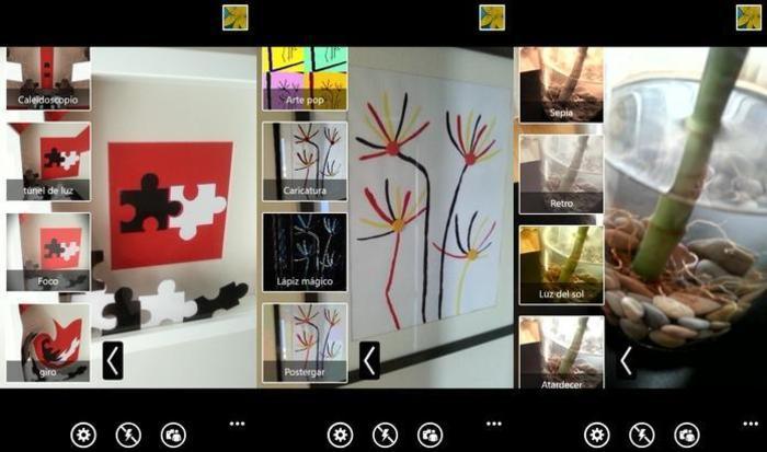 Samsung aplicaciones fotografía