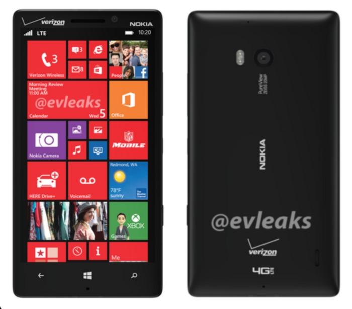 Nuevo Lumia para Verizon
