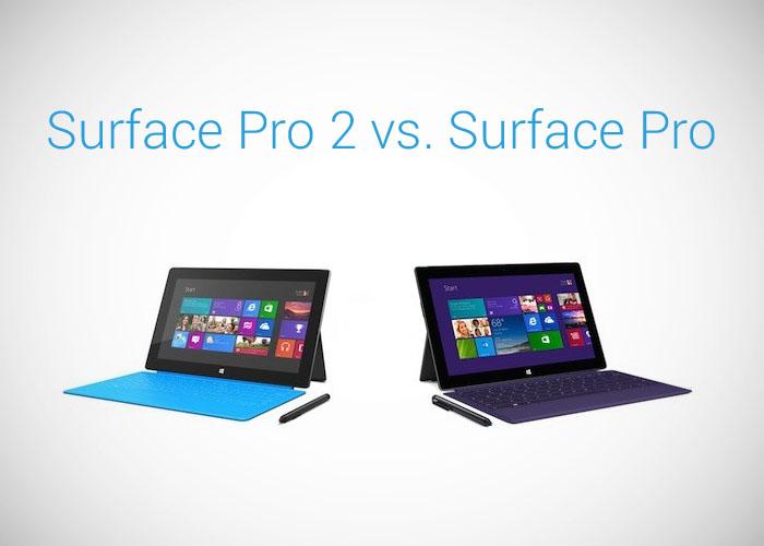 Surface Pro 2 vs. Surface Pro