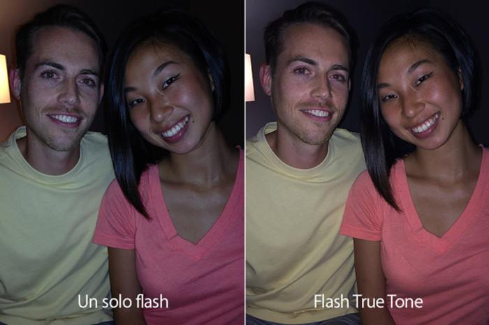 iPhone 5s doble flash