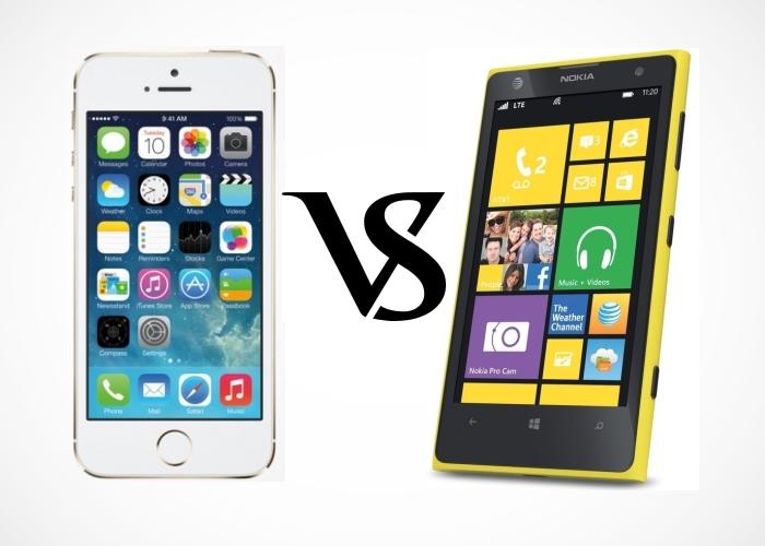 Enfrentamos a los terminales de Apple y Nokia