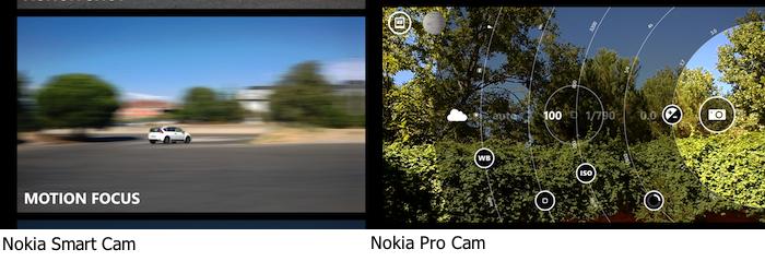 Nokia Smart y Pro juntas en horizontal