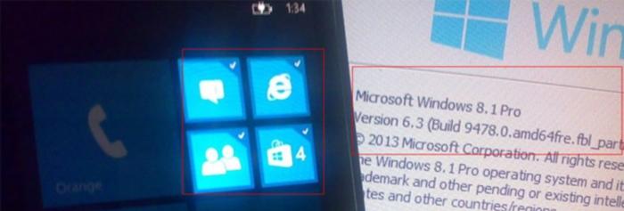 windows phone 8.1 multiples tiles