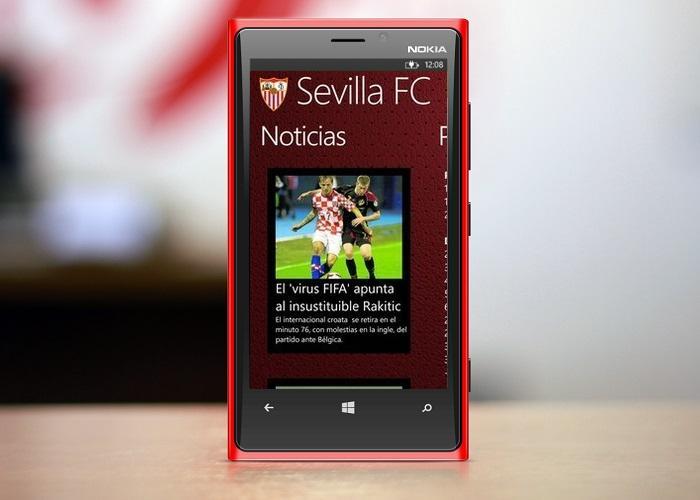 Sevilla FC Aplicación