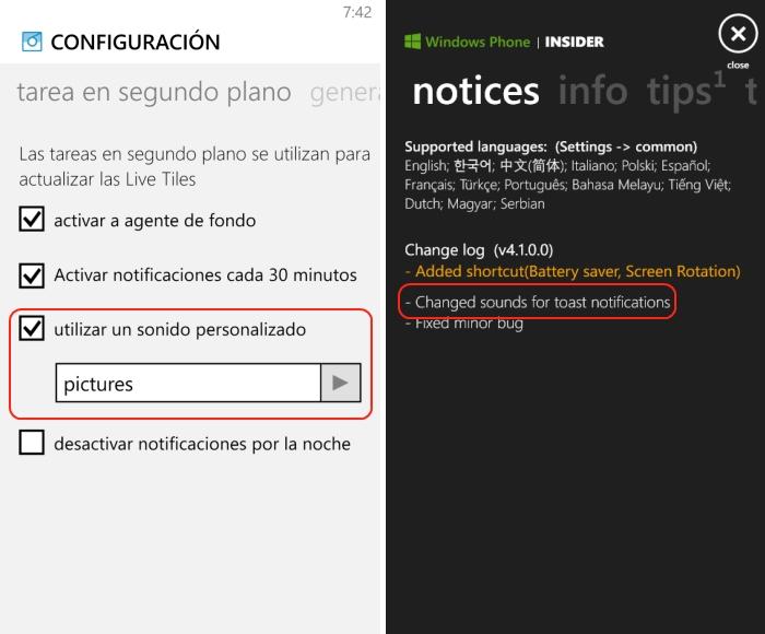 aviso personalizado notificaciones 6tag insider