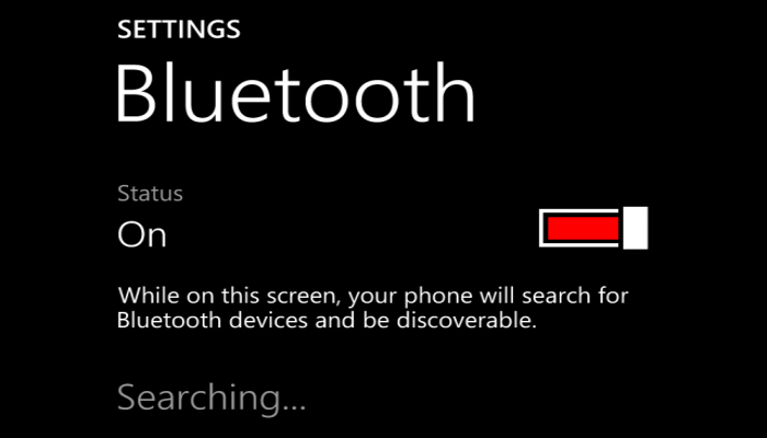bluetooth enable