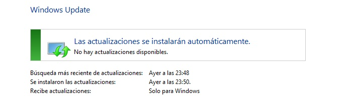 windows update actualizado